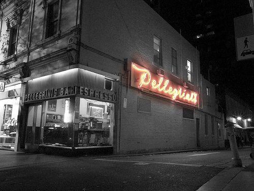 Pelligrini's Espresso Bar (by Brendan Waites Photography) Melbourne's first espresso bar