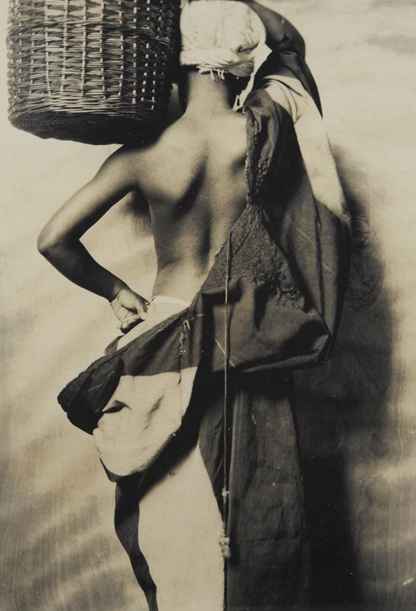 "FRANK BRANGWYN, 1867-1956  Study for ""British Empire Panels"", The Guildhall, Swansea, 1925  Unique gelatin silver print."