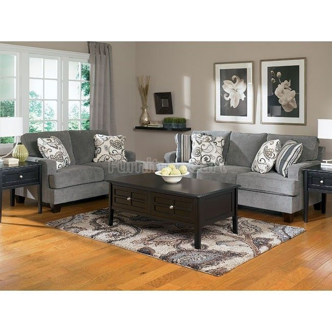 Yvette   Steel Living Room Set Signature Design By Ashley
