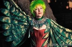 Fly away bird costume
