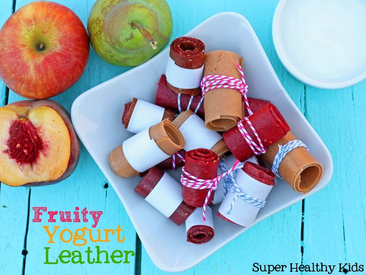 This homemade fruit leather is slightly creamy, but tangy and delicious! We found the best fruit to add to any fruit leather! #fruitleather #homemade