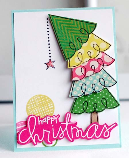 Card by PS DT Betsy using the PS stamp set All Yule Need. By paper smooches
