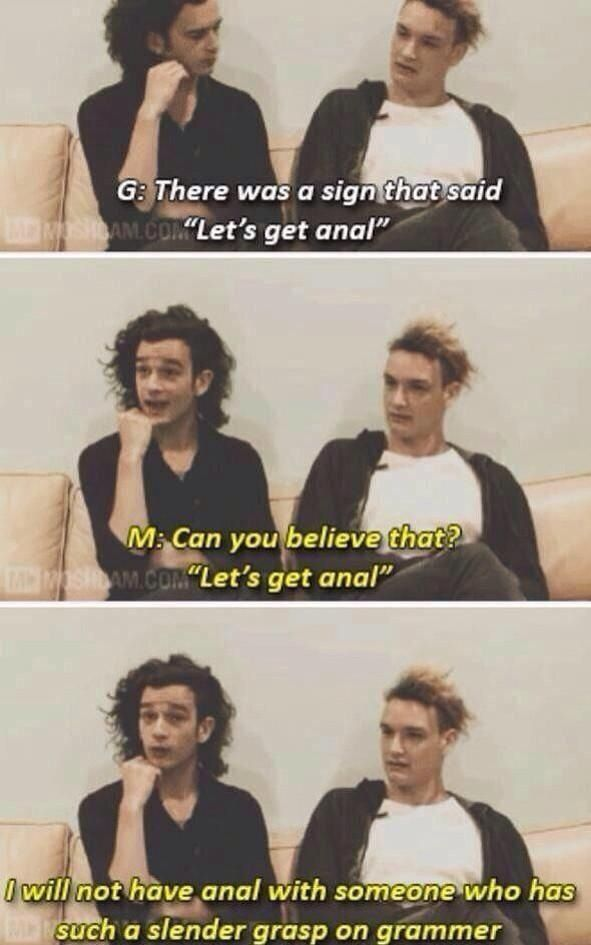 Matty i love you you're hilarious