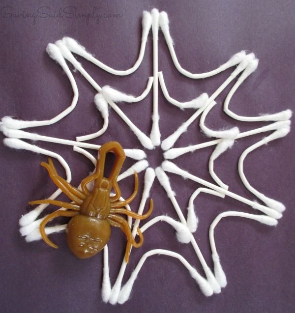 Spider Web Kids Craft | SavingSaidSimply.com