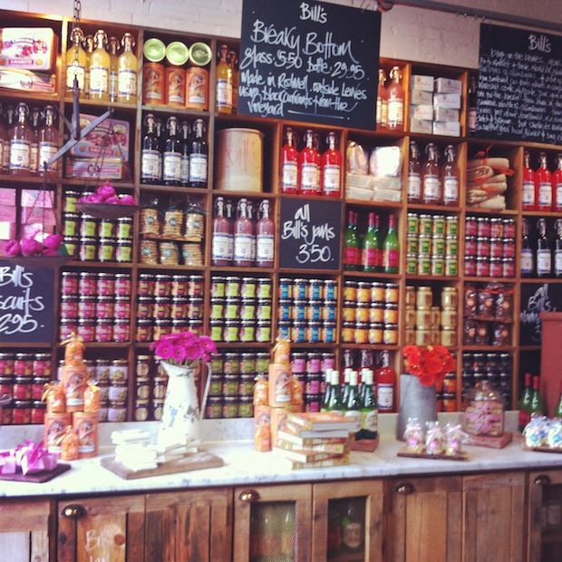 Produce at Bills Brighton - http://blog.lauraashley.com/go-see/oh-i-do-like-to-be-beside-the-seaside/