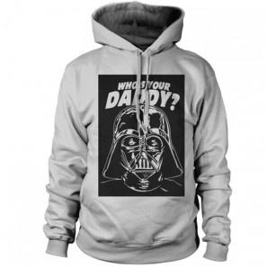 Who's your daddy ? Star Wars Darth Fener ALLINCLUSIVE APPAREL BOYS HOODIE