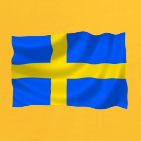 Scandinavian series ... sweden flag