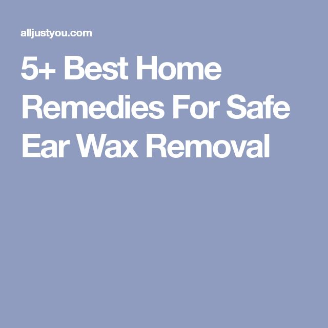 how to clean ear wax with hydrogen peroxide