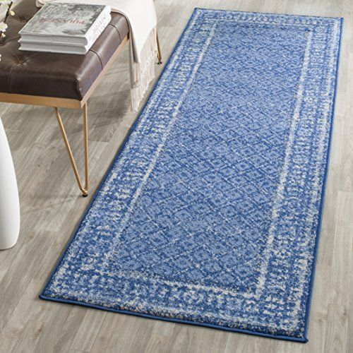 Safavieh Adirondack Collection ADR110F Light Blue and Dark Blue Indoor  Outdoor  Runner  2 feet43 best Rugs images on Pinterest   Area rugs  Blue rugs and Runners. Outdoor Carpet Runners By The Foot. Home Design Ideas