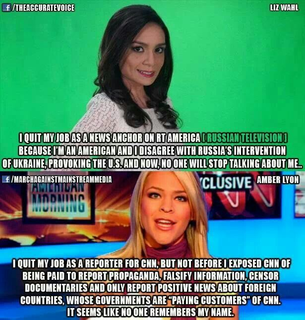 The media is a propaganda machine owned by corporations