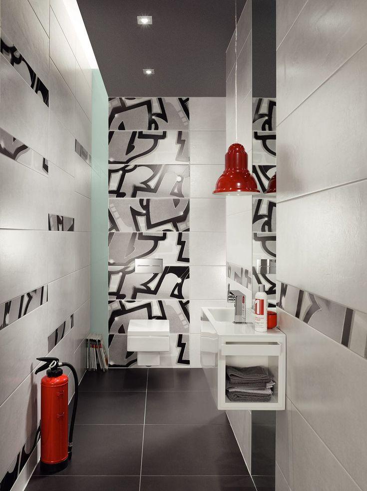 Carrelage de salle de bain / mural / en grès / uni - GRAFFITI  - Steuler-Fliesen - Vidéos