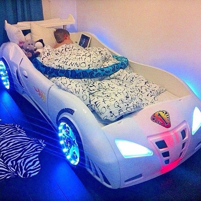 61 best ideas for kids rooms images on pinterest bedroom for Boy car bedroom ideas