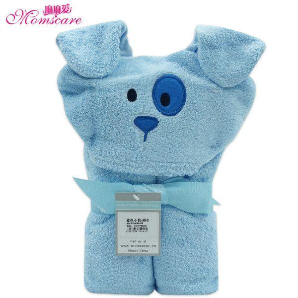 momscare хлопок полотенце мультфильм ребенка летом с капюшоном полотенце одеяло пляж полотенце детей полотенце 90 * 73см