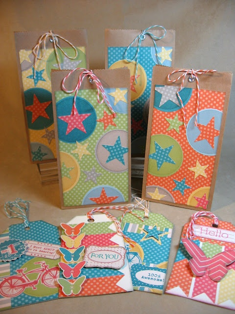 Goody bags and tags by Annette Green   # Pinterest++ for iPad #