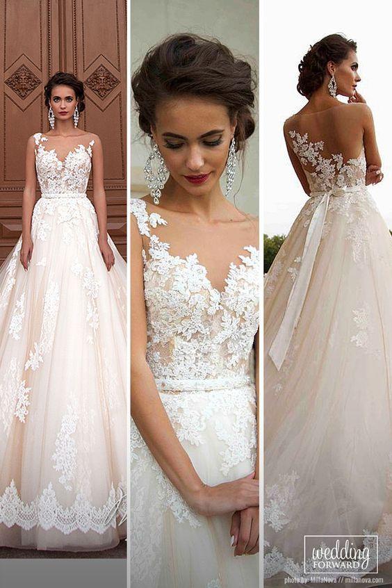 1a065c74d456aa Designer Highlight: Milla Nova Wedding Dresses | Идеи | Wedding, Wedding  dresses и Mila nova wedding dress