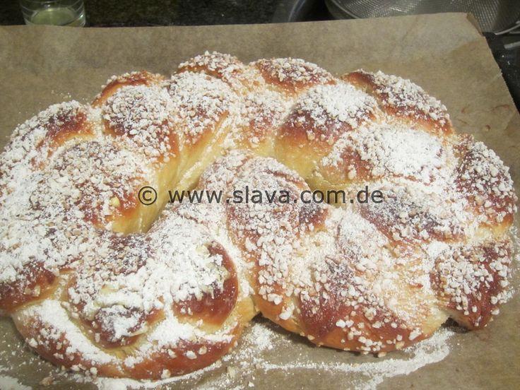 Grosse Butterweiche Neujahrsbrezel « kochen & backen leicht gemacht mit Schritt für Schritt Bilder von & mit Slava