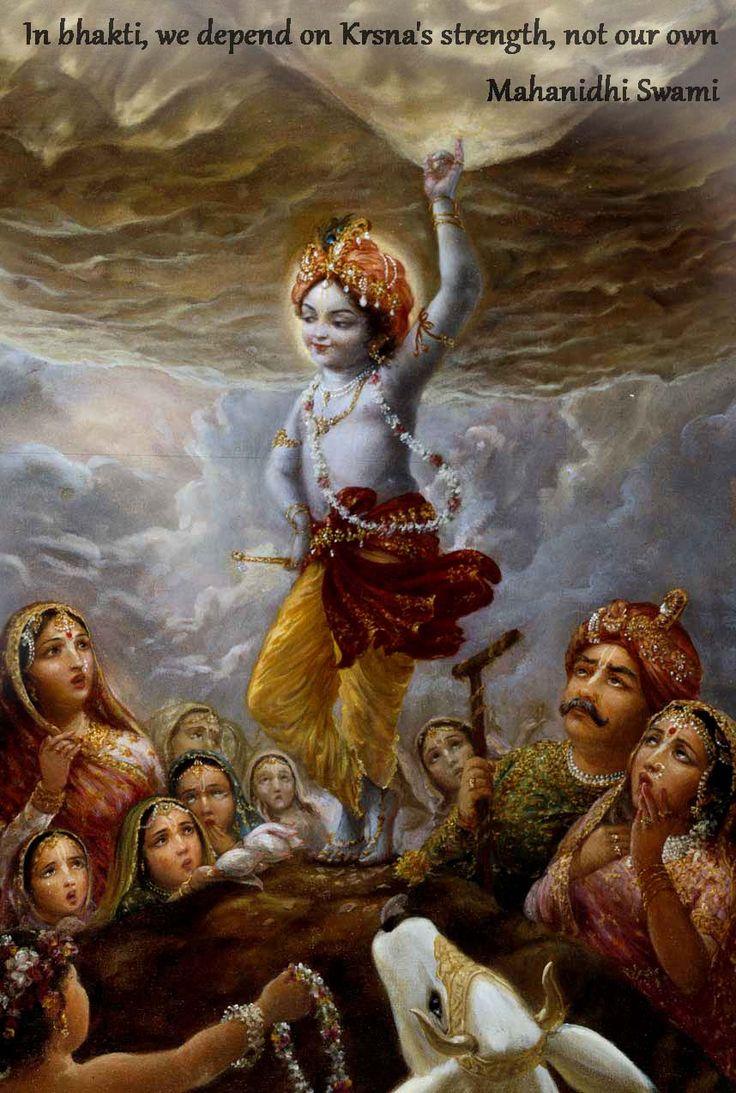 Bhakti  For full quote go to: http://harekrishnaquotes.com/mahanidhi-swami-on-bhakti-3/  Subscribe to Hare Krishna Quotes: http://harekrishnaquotes.com/subscribe/  #Bhakti, #Strength