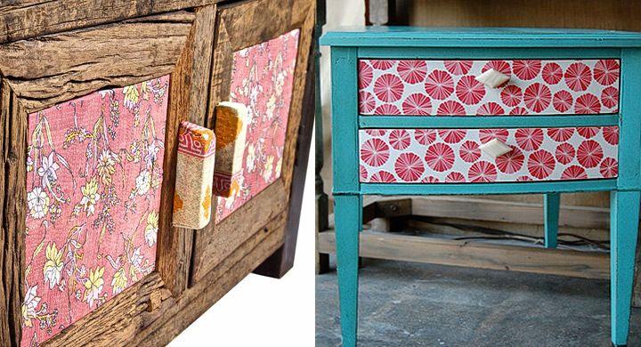 Ideas para reciclar muebles antiguos falsos acabados - Ideas para reciclar muebles viejos ...