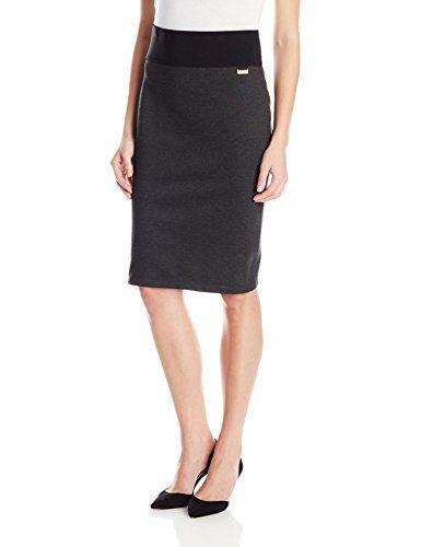 Calvin Klein Women's Essential Power Stretch Pencil Skirt - http://www.darrenblogs.com/2016/09/calvin-klein-womens-essential-power-stretch-pencil-skirt/