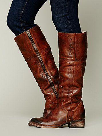 FREEBIRD by Steven Wrangler Tall Boot || my latest favorite!