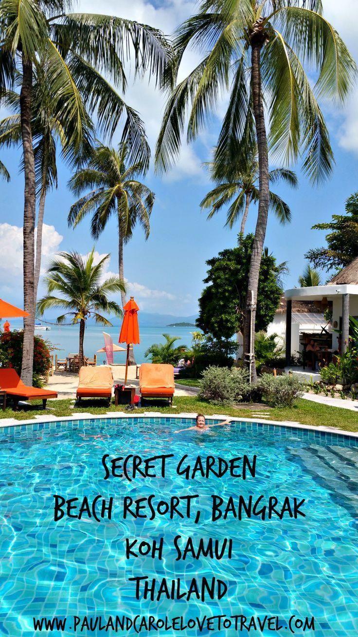 A Tour Around The Secret Garden Beach Resort In Bangrak Koh Samui Thailand Secret Garden Beach Resort Ban In 2020 Beach Resorts Koh Samui Thailand Beach Resorts