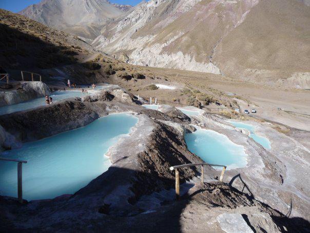 Termas del Plomo, Cajón del Maipo, Chile