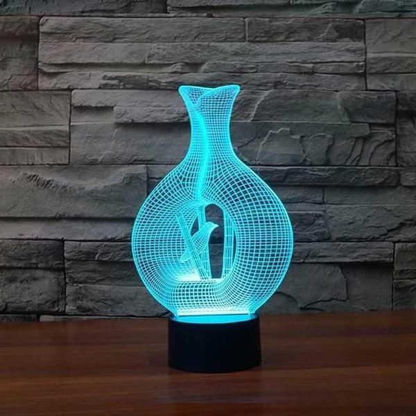 Bamboo 3d Illusion Lamp 3d Led Night Light 3d Illusion Lamp Night Light