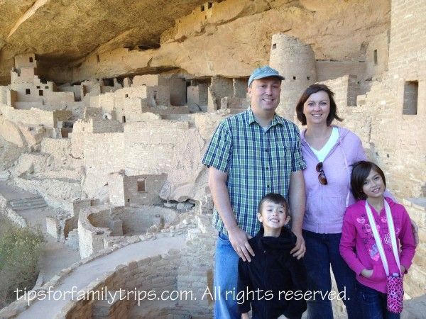 Cliff Palace, Mesa Verde National Park - Great tips for your family trip!