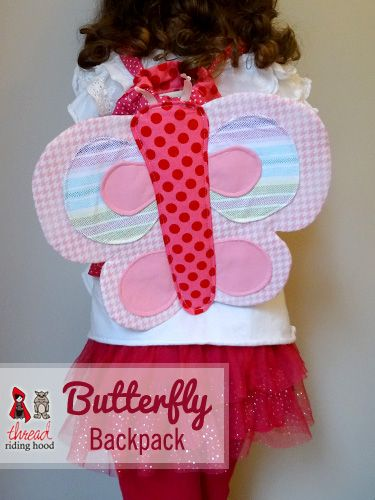 Thread Riding Hood - Butterfly Backpack