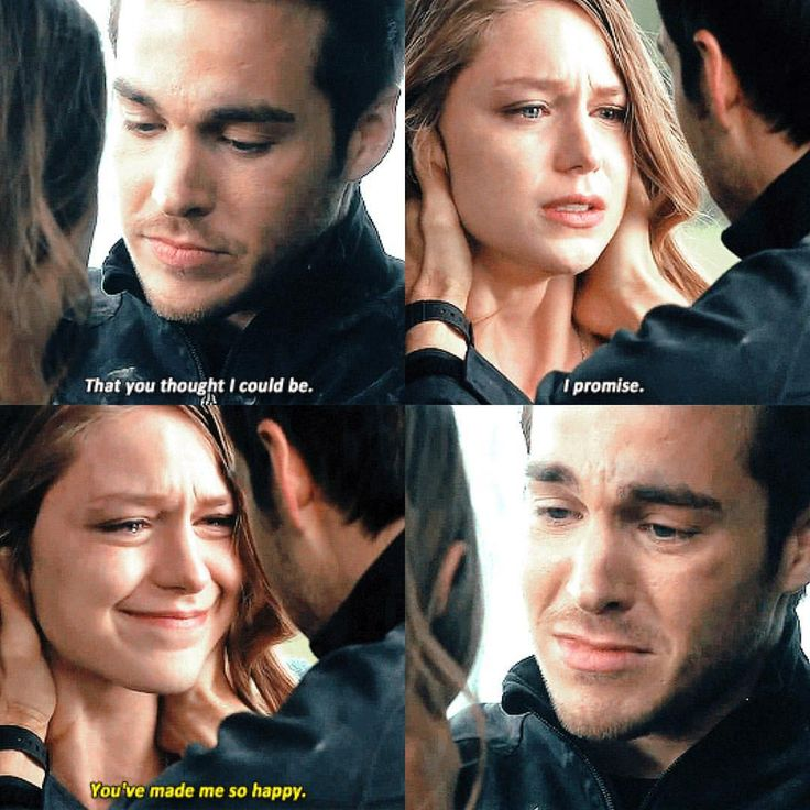 Kara and Mon-El's goodbye. Supergirl season 2 finale.