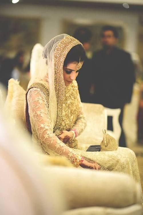 Golden Bride   Photo by Ali Khurshid