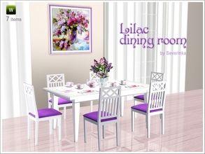 Severinka S Sims 3 Sets Dining Room