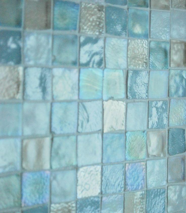 Shades of aqua and silver