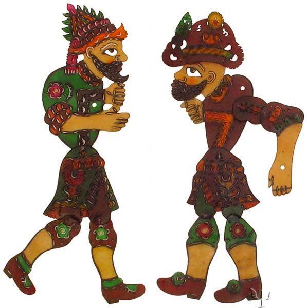 Ottoman Figures /Hacivat and Karagoz