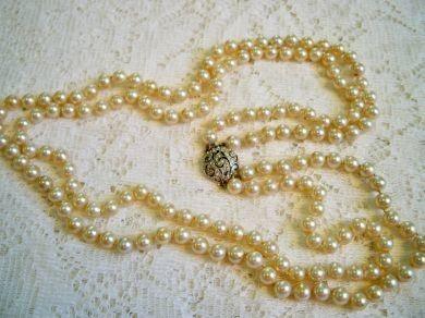 Pin by Eau Pleine Vintage on Pearls