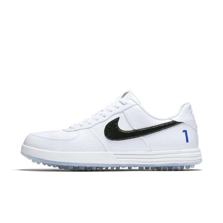Nike Lunar Force 1 G Men's Golf Shoe Size 11.5 (White)