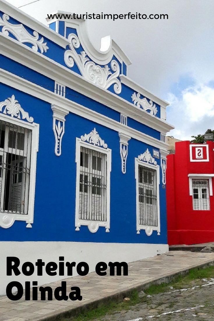 Roteiro na cidade de Olinda, patrimônio Unesco