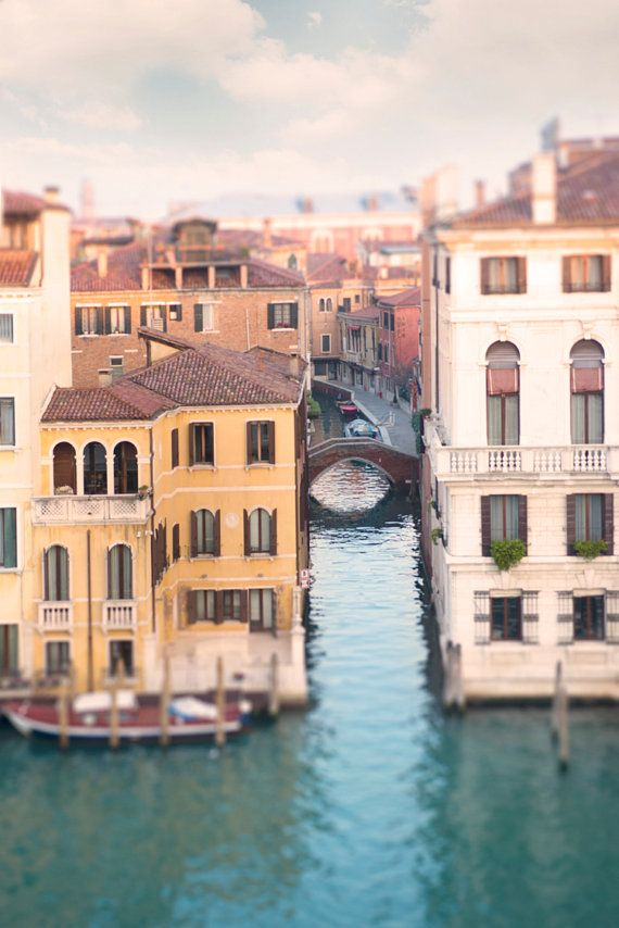 Grand Canal in Venice Italy I will take a scenic trip around these homes
