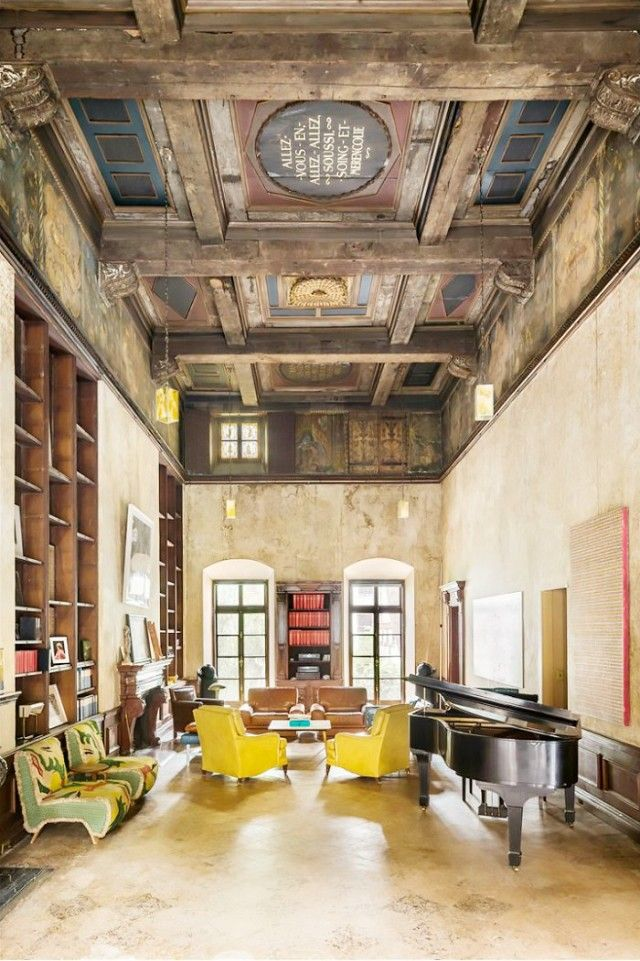 Mary-Kate Olsen and Olivier Sarkozy's Turtle Bay Townhouse