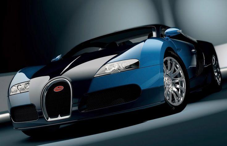 Bugatti EB-164 Veyron Blue HD Widescreen Exotic Car WallpapersA1
