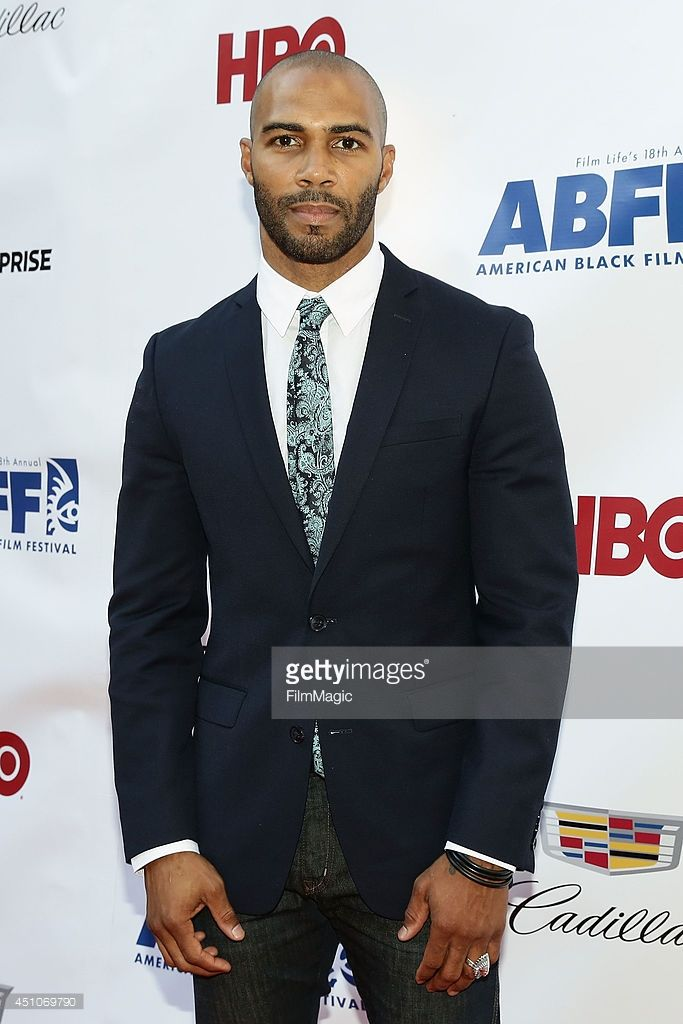 Actor Omari Hardwick attends 'Da Sweet Blood Of Jesus' world premiere during the 2014 American Black Film Festival at Metropolitan Pavilion on June 22, 2014 in New York City.
