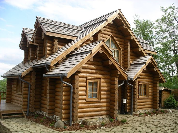 Where Russian meets Canadian Handcrafted Log Home from
