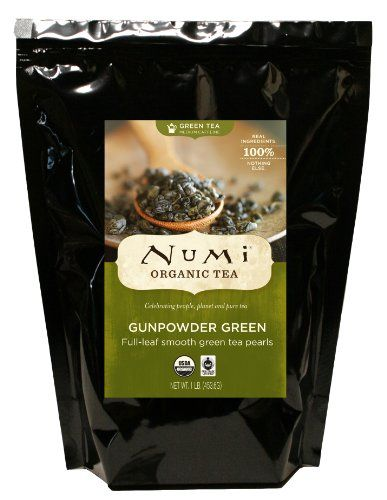 Numi Organic Tea Gunpowder Green - Full Leaf, Loose Leaf, Temple of Heaven Green…