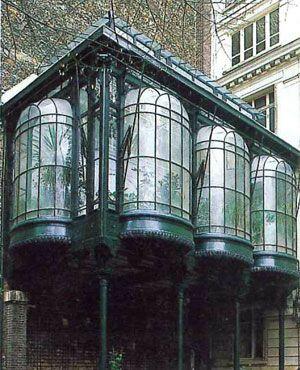 Véranda Gustave Eiffel (1882) #Paris #Architecture #Patrimoine