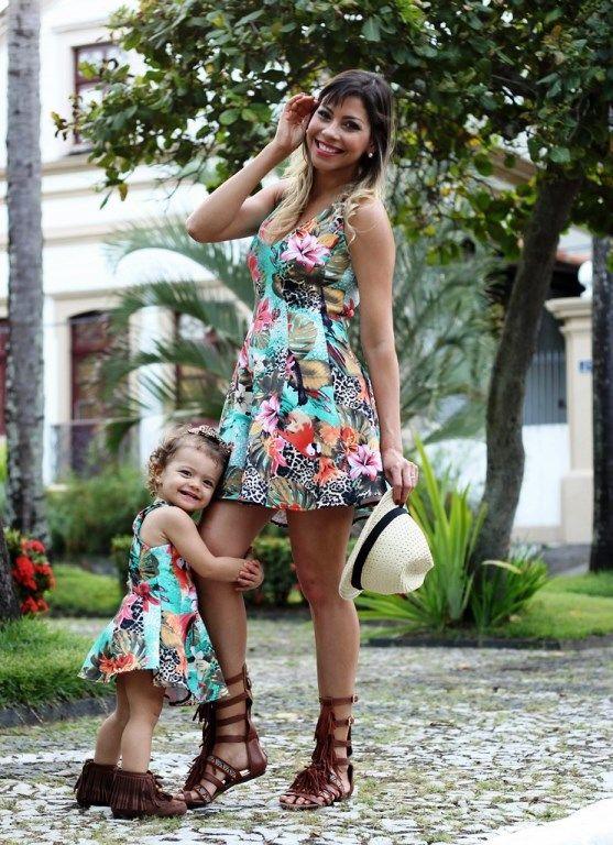 vestido tal mae e tal filha com transparencia - Pesquisa Google