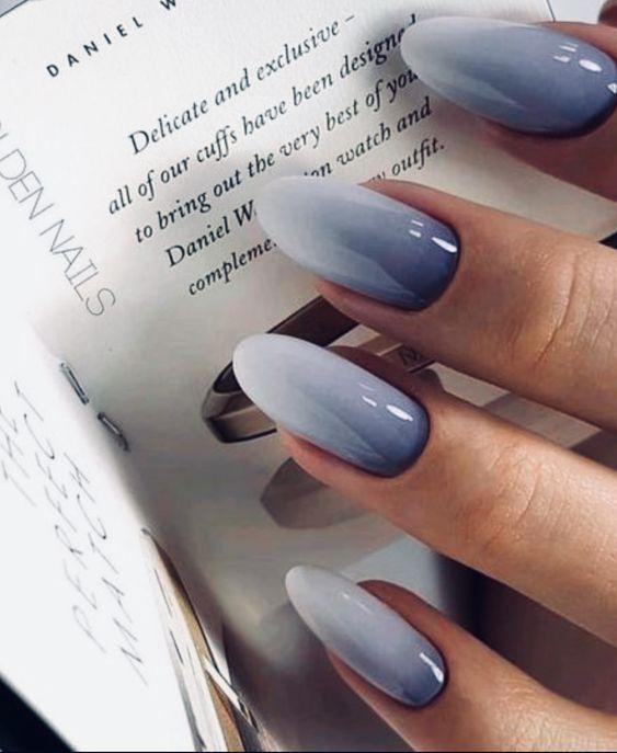 45 Wonderful Ombre Nail Art Design Ideas