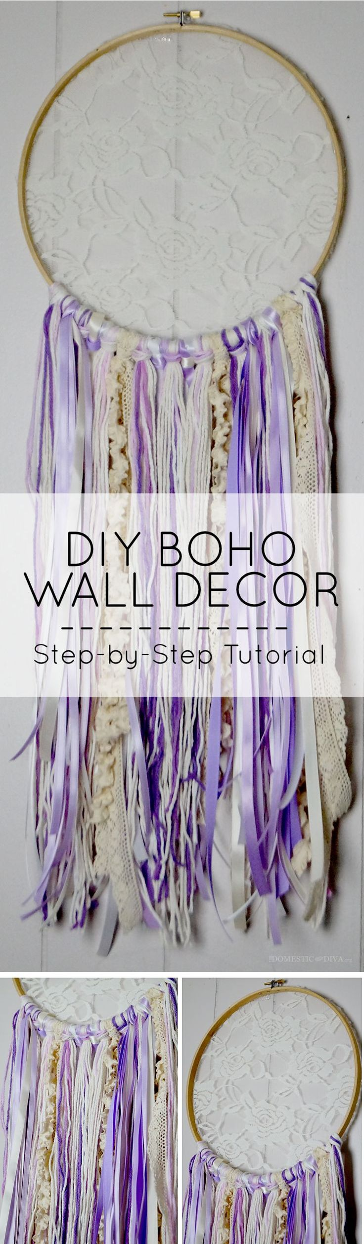 DIY Boho Wall Decor for Your Home: Dream Catcher Step-by-Step Tutorial