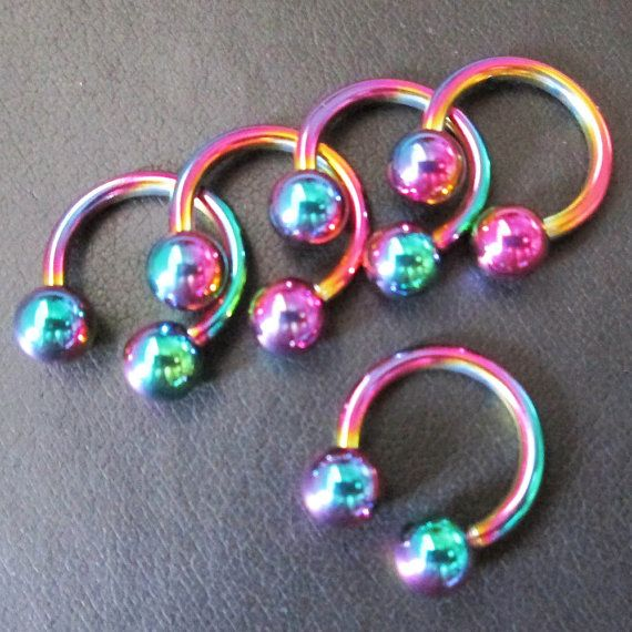 Hey, I found this really awesome Etsy listing at https://www.etsy.com/listing/215014734/14g-lot-5-lip-eyebrow-ear-rings-circular