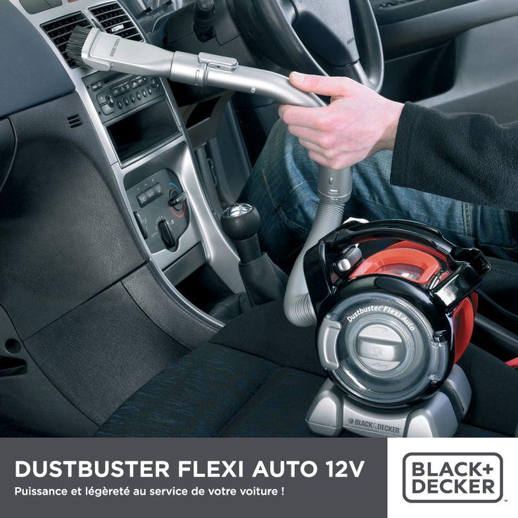 Petit et ultra maniable, l'aspirateur Dustbuster Flexi Auto vous permet de nettoyer en toute facilité les endroits les plus inaccessibles de votre véhicule. Pour en savoir plus cliquez sur la photo.
