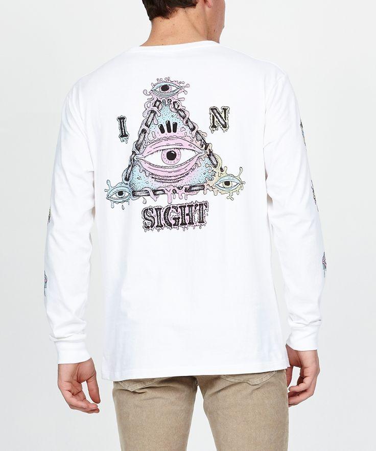 THE WANDERING EYE LONG SLEEVE T-SHIRT | Long Sleeve T-Shirts | T-Shirts | Clothing | Shop Mens | General Pants Online